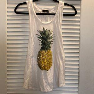 Jeweled Pineapple Tank